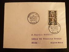 FRANCE PREMIER JOUR FDC YVERT 998    LE SYSTEME METRIQUE    30F    PARIS   1954