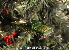 Classic '58 '59 Chevy Impala Bel Air Christmas Ornament 1/64th Chrome Muscle Car
