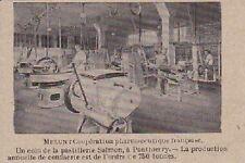 1922  --  UN COIN DE LA PASTELLERIE SALMON  A PONTHIERRY   3B160