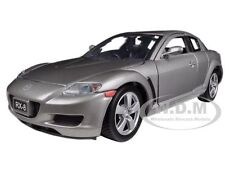 MAZDA RX-8 GREY 1/24 DIECAST MODEL BY MOTORMAX 73323