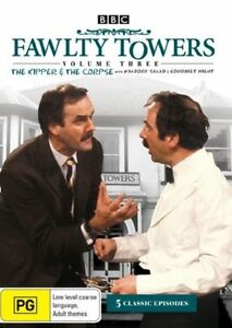 Fawlty Towers - The Kipper And The Corpse : Vol 3