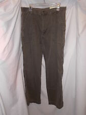 """NEW Perry Ellis Principles 100% Cotton Clay Colored Casual Pants, 34"""" x 34"""""""