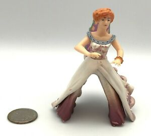 Papo FAIRY LADY RIDER Fantasy Figure Tales & Legends 2009 Pretty Dress Wings