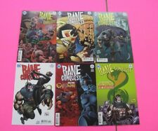 BANE CONQUEST # 1,2,3,4,5,6,7,8,9,10,11,12 COMIC DC FULL SERIES 12 LOT BATMAN