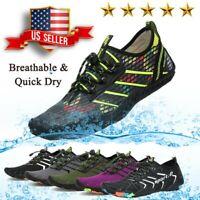 SAGUARO Water Shoes Aqua Surf Swim Skin Socks for Men Women Beach Pool Sport US