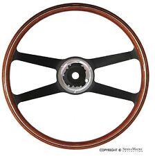 VDM Steering Wheel, Wood, Porsche 911/912 (420mm) (65-68), 901.347.082.01