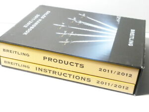 2011 2012 Breitling Watches Sales Full Colour Handbook Products & Instructions