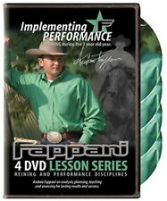 Andrea Fappani Reining Implementing Performance 3 year old Horse Training Dvd