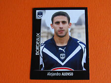 N°41 ALONSO GIRONDINS BORDEAUX LESCURE PANINI FOOT 2008 FOOTBALL 2007-2008