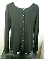 J JILL Women's Long Sleeve Button Front Blouse Shirt Top Size S