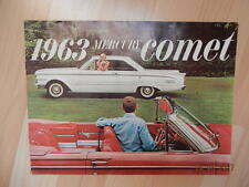 catalogue MERCURY COMET 1963