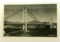 RPPC San Francisco California Golden Gate Bridge Real Photo Postcard