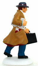 Dept. 56 Busy City Sidewalks Business Man w. Briefcase Christmas in City 58955