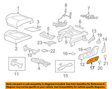 GM OEM Front Seat-Plate Left 25941782