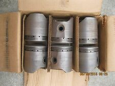 Pistons 1937 1938 1939 1940 Chevy Car & Truck 6 cylinder Semi-Finish C992F D20