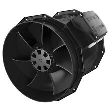 Systemair EC Vector Fans 200mm hydroponics