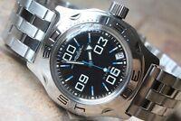 Russian Mechanical Automatic Wrist Watch VOSTOK AMPHIBIAN DIVER 100844