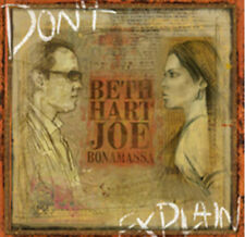 Beth Hart & Joe Bonamassa : Don't Explain CD (2011) ***NEW***