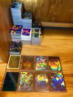 Marvel Trading Card Lot Poster Rare Uncut Hologram Holographic X-Men