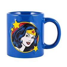 WONDER WOMAN Embossed 20 oz. Ceramic Coffee Mug, by ICUP