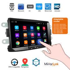 2 Din Android 8.1 coche Radio Stereo GPS WIFI 8'' Pantalla táctil para Renault