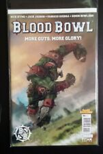 BLOOD BOWL  # 1  MORE GUTS MORE GLORY TITAN COMICS. BAGGED/BOARDED