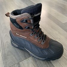 Columbia Bugabootoo Waterproof Snow Winter Boots Mens 7 Leather Brown BM1211-901