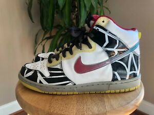 """Size 8.5 - Nike Dunk High Premium """"Thrashin"""" 2008"""