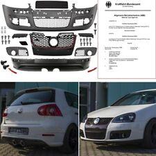 VW Golf 5 v Pare-chocs complet + Arrière Diffuseur r32 GTI Bodykit + * ABE TÜV Libre *