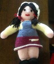 Handknitted doll