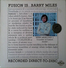 BARRY MILES - FUSION IS..  BARRY MILES - CENTURY LP  (DIRECT-TO-DISC) - LIM. ED.