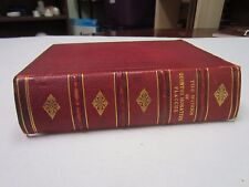 The Works of Quintus Horatius Flaccus, Leather Bound, Published 1849