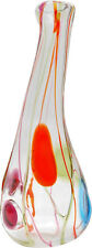 Large and Colorful Vintage Salviati Murano Glass Vase (Venini, Cenedese, Seguso)
