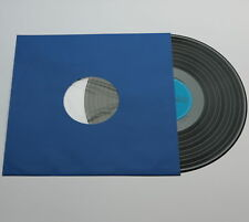 100 St blaue LP/Maxi Singles Schallplatten Premium Papier Innenhüllen, gefüttert