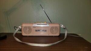 Working Vintage SHARP QT-50 (L) AM/FM Radio Cassette Player Refurbished