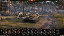 World of tanks account RU-server