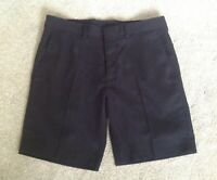 "Only & Sons Skinny Boys Smart Black Chino Shorts Summer Waist 30"""