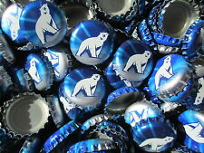 100 Polar Bear Beer Bottle Caps (No Dents). Free S&H