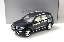 1:18 Minichamps Mercedes ML W166 tansanit blue DEALER NEW bei PREMIUM-MODELCARS