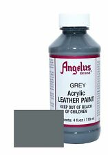 Angelus Acrylic Leather Paint for Shoes / Sneakers - Grey - 4oz