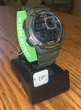Casio Men's Quartz Resin Watch AE1000W-3AV Green