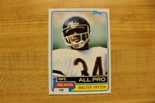 1981 Topps Walter Payton #400 Nr-Mt Chicago Bears