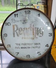 """Vintage Reading Beer """"The Friendly Beer For Modern People"""" gutted"""