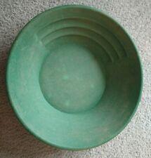"14"" Green Plastic Gold Pan"