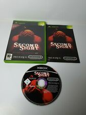 Second Sight-ORIGINAL XBOX Game UK PAL utilisé