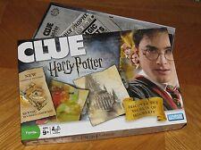 Harry Potter CLUE - Secrets of Hogwarts Game - 2008 Hasbro USA - Complete & Nice