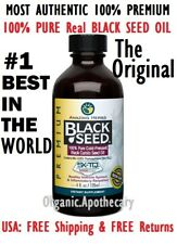 #1 THE ORIGINAL 100% Pure Black Seed Oil Cold Pressed Cumin Nigella Sativa NoGMO