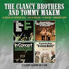 The Clancy Brothers & Tommy Makem - In Person Ay Carnegie Hall/Live In (NEW 2CD)