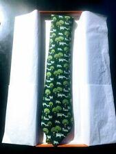 Hermes Green Cows Silk Tie. BNIB, Great Secret Santa!