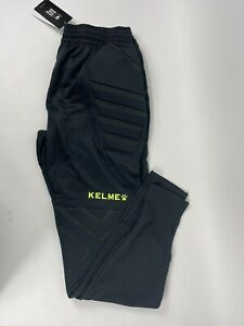KELME Men's Soccer Goalie Pants Padded Goalkeeper Paintball US Size Large New